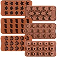 6-Pack W-sugars Chocolate Candy Danzig Silicone Mold