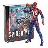 Htipdfg Figura de acción Spider-Man Mejora Traje PS4 Game Edition Spiderman PVC Figura de acción Coleccionable Modelo Muñeca Regalo 15 cm muñeca (Color : with Retail pacakge)