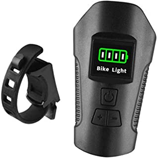 Bicicleta da bicicleta da bicicleta holofote 120db chifre Led luzes da bicicleta de montanha camping à prova d' água Odôme...