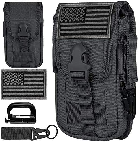 IronSeals Tactical Cell Phone Holster Pouch Smartphone Pouch EDC Cellphone Case Molle Attachment product image