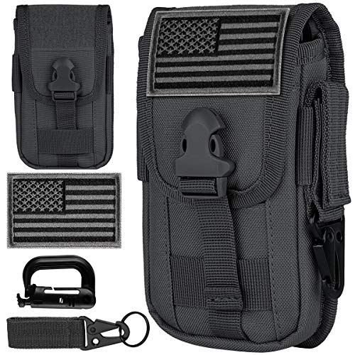 IronSeals Tactical Cell Phone Holster Pouch, Smartphone...
