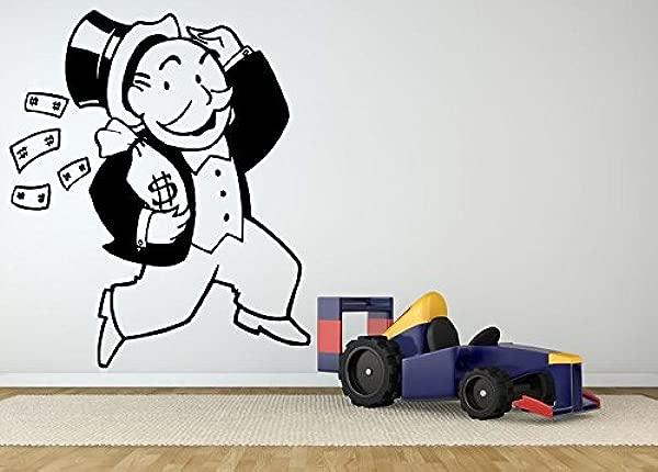 Wall Room Decor Art Vinyl Sticker Mural Decal Board Game Money Guy Poster AS1981