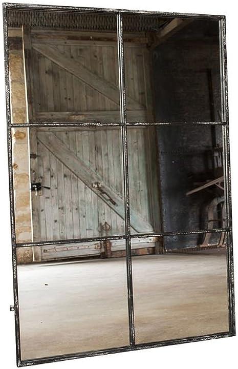specchio a sei sezioni in stile vintage pomax b00ouwnzjw