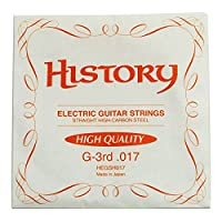 HISTORY HEGSH017 エレキギター弦 10本セット バラ弦 (ヒストリー)