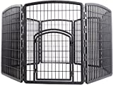 IRIS Exercise 8 Panel Pen Panel Pet Playpen with Door