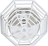 Safety Technology International, Inc. STI-9601 Steel Web Stopper, 9 Gauge Corrosion Resistant Polyester Coated Cage, Flush Mount, 2.75' Depth
