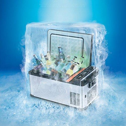 MUMUMI Frenador Termoeléctrico/Compresor de Ahorro de Energía para Frío Normal Y Profundo W40 Ac/Dc 18 Litros Capacidad12V 24V 220V Coche Refrigerador Refrigerador