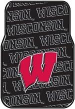 Northwest COL 343 Company NCAA Wisconsin Badgers Car Front Floor Mat Set