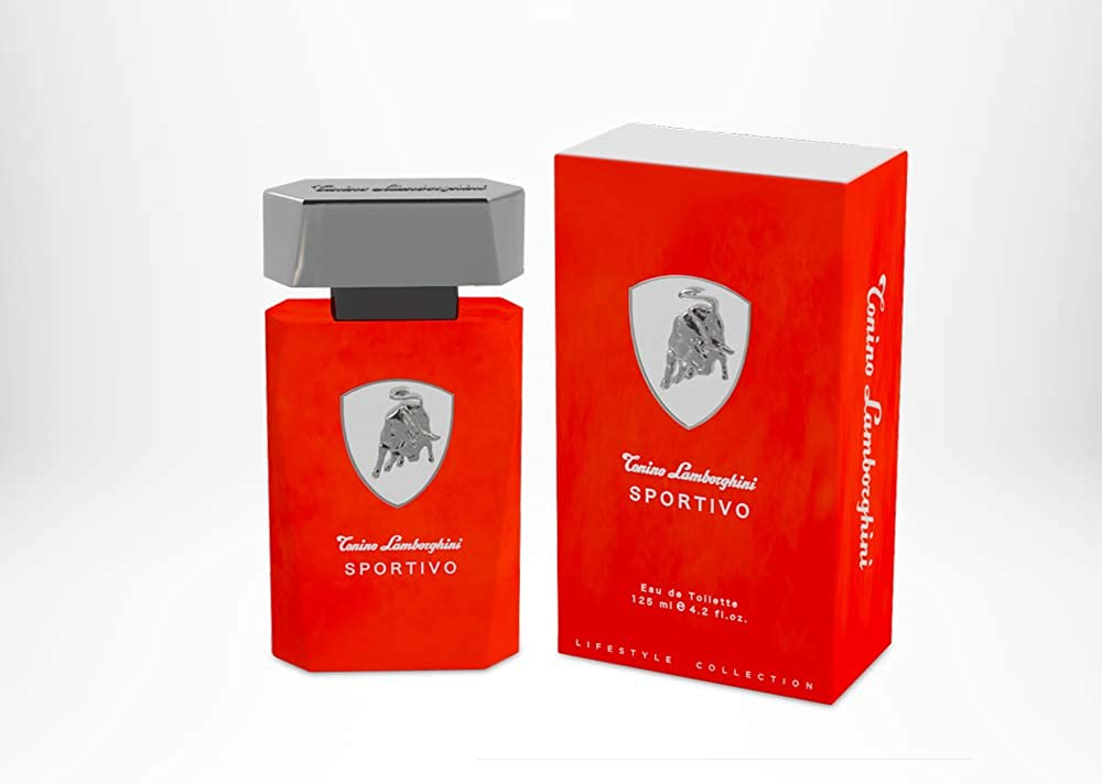 Lamborghini,eau de toilette spray per uomo,125 ml 0810876037181