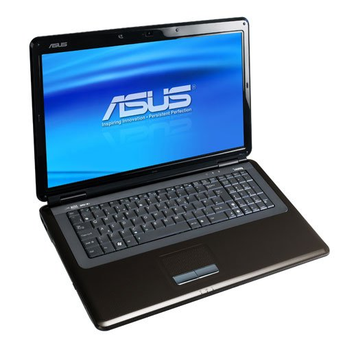 Asus K70IJ-TY078X 43,9 cm (17,3 Zoll) Laptop (Intel Core 2 Duo T5870 2GHz, 2048MB RAM, 250GB HDD, shared, DVD, Win 7 Pro)