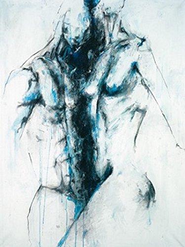 Digitaldruck / Poster Katja Spilker - Balance-Akt - 60 x 79.8cm - Premiumqualität - Figurativ, Poeple & Eros, Erotik - MADE IN GERMANY - ART-GALERIE-SHOPde