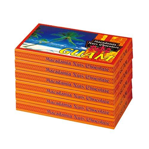 [グアムお土産] グアム マカデミアナッツチョコレート(袋付) 6箱セット (海外 みやげ グアム 土産)