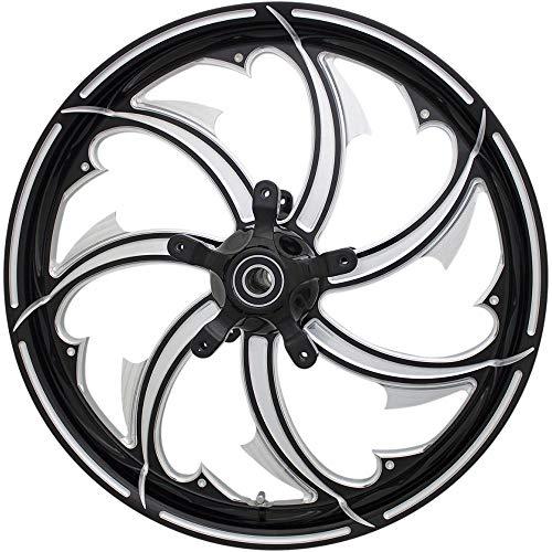 Coastal Moto 4502-FRY-165-BC Moto Forged Fury Aluminum Rear Wheel - 16in.x5.5in. - Black