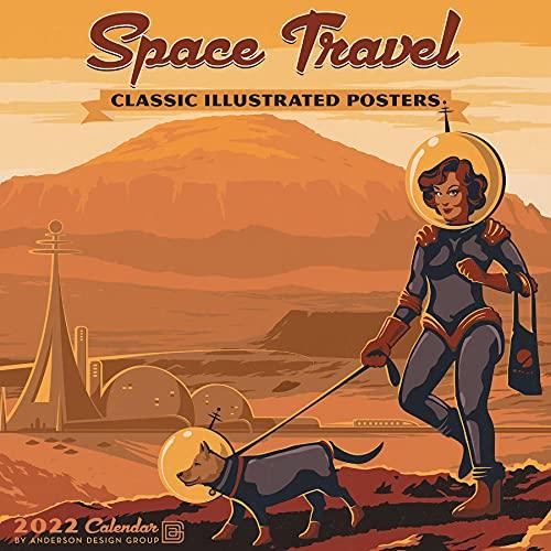 Space Travel Art 2022 Wall Calendar