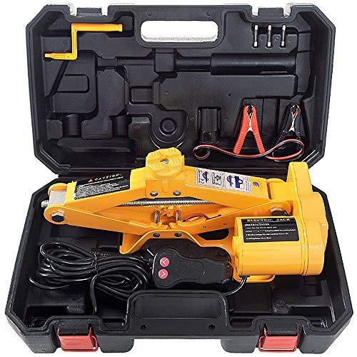 Auto-krik, hydraulische krik, 12 V, 3 ton, all-in-one-multifunctioneel reparatiegereedschap voor automatische schaarhefbruggen voor het verwisselen van banden en noodgevallen