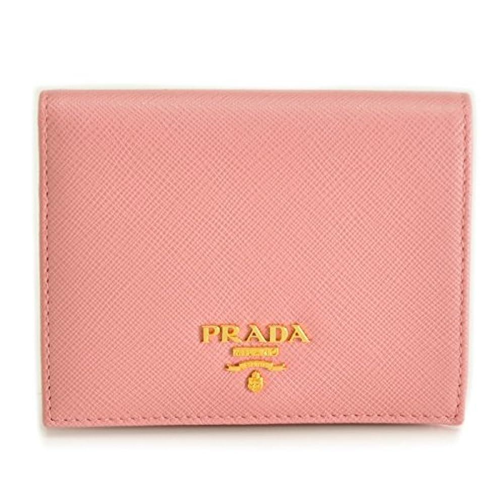 引き出す自発的ボットPRADA(プラダ) ミニ財布 サフィアーノ 小銭入れ カードケース 二つ折り財布 1MV204 QWA 442 [並行輸入品]