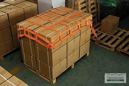 Gurtbandnetz Ladungssicherungsnetz nach VDI 2700 Blatt 3.3 Größe 0,9x1,3 mtr