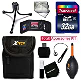 IDEAL 32GB Accessories KIT for Samsung WB350F, WB50F, WB35F, Galaxy Camera 2,...