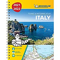 Italy 2021 / 2022 - Tourist and Motoring Atlas (A4-Spiral): Tourist & Motoring Atlas A4 spiral (Michelin Road Atlases)