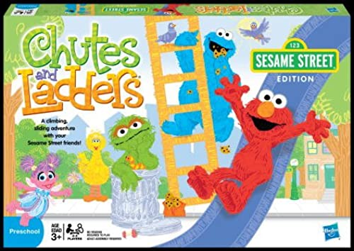 Sesame Street Chutes And Ladders Sesame Street