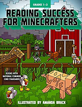 Paperback Reading Success for Minecrafters: Grades 1-2 Book