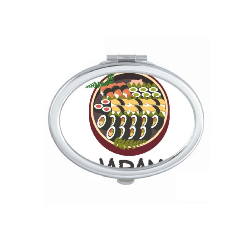 Traditional Japanese Tasty New color Sushi Mirror Limited Special Price Makeu Fold Hand Portable