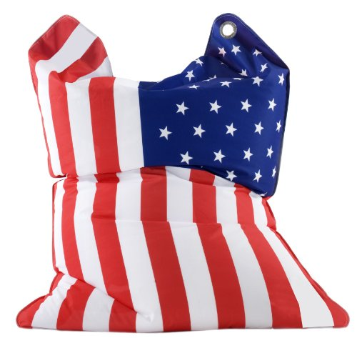 Sitting Bull 633021 Sitzsack Fashion Bull / 190 x 130 cm / Stars & Stripes