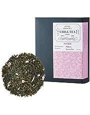 Sakura Kersenbloesem Groene Thee van CHILL TEA Tokyo - 100% Japanse Sencha losse thee – een rijke, fruitage en bloemige smaak (30 theezakjes)