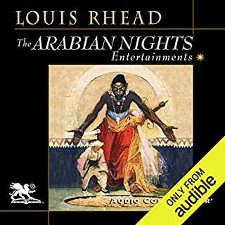The Arabian Nights Entertainments audiobook cover art