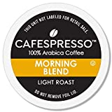 CAFESPRESSO Morning Blend for K Cup Keurig 2.0 Brewers, 80Count, Light Roast Single Serve Coffee Pods (Packaging May Vary)