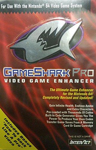 "GameShark Pro - Nintendo 64 (Bonus ""How to Hack like a Pro"" VHS) Verison 3.0"