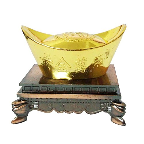 Chinese Feng Shui Gold Ingot for Your Wealth Chinese Feng Shui Home Decor