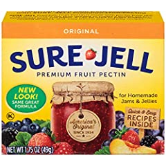 A dry pectin used to make homemade jams and jellies Sugar-free and naturally fat-free 0 calories per serving Deliciously gluten-free Perfect for those keeping kosher