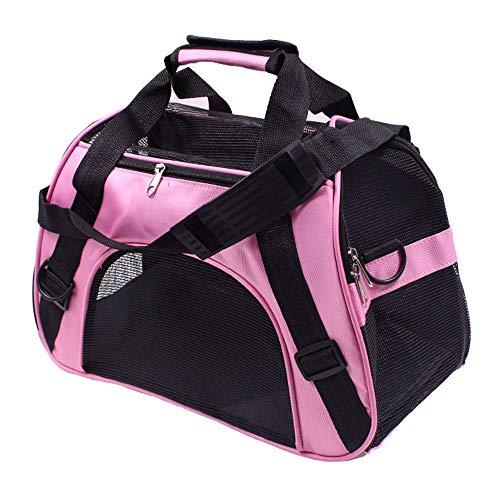 thematys Haustiertragetasche für Hunde und Katzen in 5 Hundetasche aus flexiblem und faltbarem Material - perfekt für Reisen (Style 5, S)