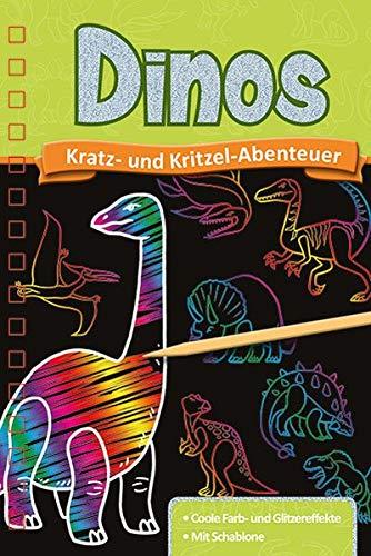 Kratzbuch: Dinos: Kratz- und Kritzel- Abenteuer
