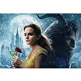 Rompecabezas 3D 1000 Piezas Beauty and The Beast The Film Rompecabezas de 1000 Piezas para Juguetes desafiantes para aliviar el estrés 38x26cm