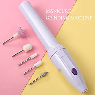 Electric Nail Drill Set Professional File Kit Handpiece Grinder Tool For Acrylic, Gel Nails,Portable Nail Drill Machine Electric Acrylic Nail File Manicure Pedicure