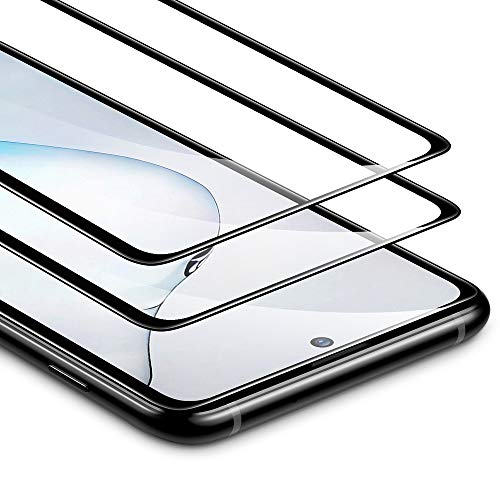 ESR Pellicola per Samsung Note10 Lite [2 Pezzi], Proteggischermo in Vetro Temperato [Copertura Schermo Intero][Compatibile con S Pen], per Samsung Galaxy Note 10 Lite (2020)