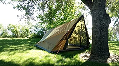 River Country Products 4 Person Tent, Trekker Tent 4 - Green (Tent Without Poles)