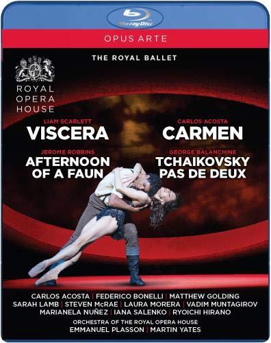 Carmen - Viscera - Afternoon of a Faun - Tchaikovy [Blu-ray]