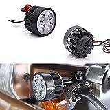 ShopSquare64 BIKGIHT 12-80 V Elektrorad Roller Fahrrad Radfahren Scheinwerfer Motorrad Griff Halterung Licht -