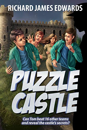 Puzzle Castle : Action Adventure Mystery Book For Young Adults- Can Tom beat 16 other teams and reveal the castle's secrets? (The Puzzle Train 3) (English Edition)