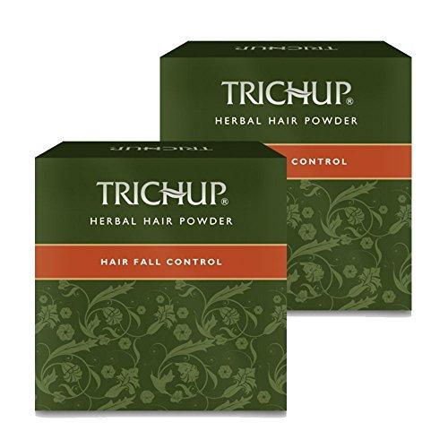 Trichup Capelli Autunno Controllo Puro Salutare Naturale Erbaceo Capelli Polvere (120g x 2) Pacco di 2