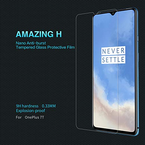 NILLKIN Amazing 9H Nanometer Anti-Explosion Tempered Glass Screen Protector OnePlus 7T