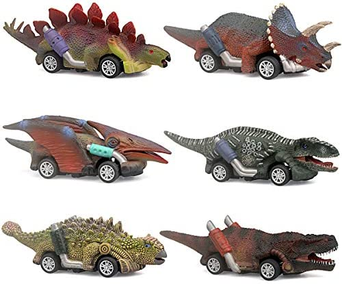 Dinosaur Toy car boy Toys Age 3 to 12 Toy Dinosaur 5 3 Inch Toys for 3 4 5 6 7 8 9 10 11 12 product image