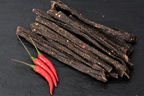 Biltong - 250g - Chilli Bites - Proteinreicher Snack aus Rind