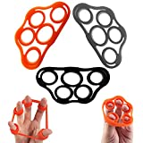 5BILLION Finger & Hand Stretcher - Workout for Forearm Exercise, Guitar Finger Strengtheners and...