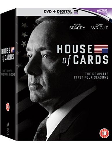 House of Cards - Season 01 / House of Cards - Season 02 / House of Cards - Season 03 / House of Cards - Season 04 - Set [Reino Unido] [DVD]