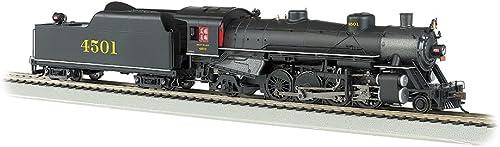 Bachmann 54403 H0 USRA Light 2-8-2 Mikado w Medium Tender - Standard DC -- Southern Railway  4501