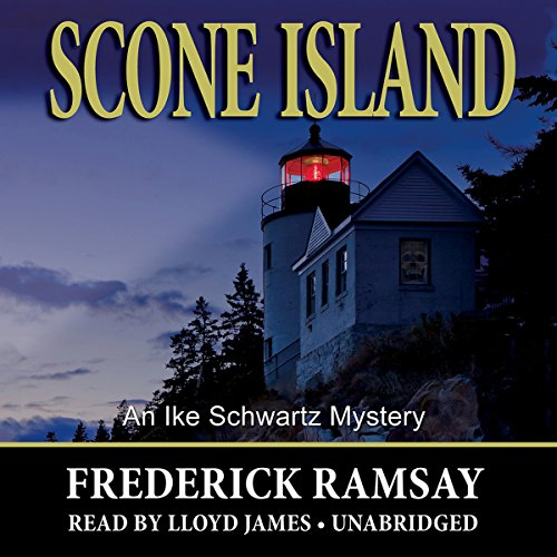 Scone Island audiobook cover art